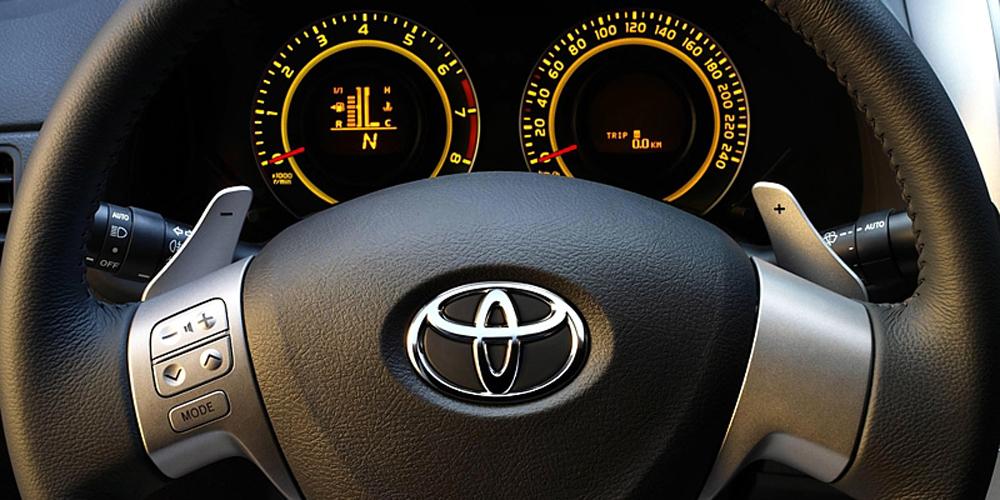 Замена робота на автомат Toyota
